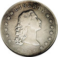 Early Dollars: , 1794 $1 B-1, BB-1, R.4. VF25 NGC. Ex: Jules Reiver Collection.Lowest curl near star 2; leaf ...