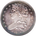 Patterns: , 1838 P50C Half Dollar, Judd-73 Restrike, Pollock-77, R.5, PR65 NGC.Obverse portrait of Liberty faces left, surrounded by 1...