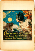 Books:Science Fiction & Fantasy, [Pulps]. Edgar Rice Burroughs. Earliest Publication of The Chessmen of Mars. Complete serialization collected fr...