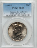 Kennedy Half Dollars, 1996-P 50C MS68 PCGS. Ex: Vennekotter Collection. PCGS Population(56/0). NGC Census: (10/0). Numismedia Wsl. Price for pr...