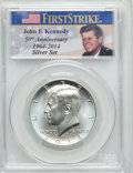 Kennedy Half Dollars, 2014-D 50C Silver, 50th Anniversary Set, First Strike, MS70 PCGS.PCGS Population (2534). NGC Census: (0)....