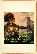 Books:Science Fiction & Fantasy, [Pulps]. Edgar Rice Burroughs. Earliest Publication of Tarzan the Terrible. Complete serialization collected from Ar...