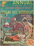 Books:Science Fiction & Fantasy, [Pulps]. Edgar Rice Burroughs. Earliest Publication of Master Mind of Mars. Amazing Stories Annual, Vol. 11,...