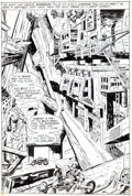 Original Comic Art:Splash Pages, Jack Kirby and Vince Colletta Superman's Pal, Jimmy Olsen#133 Splash Page 20 Original Art (DC, 1970)....