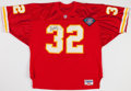 Football Collectibles:Uniforms, Marcus Allen Signed Kansas City Chiefs Jersey....