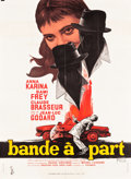 """Movie Posters:Foreign, Bande à Part (Columbia, 1964). French Grande (45.5"""" X 63"""").. ..."""