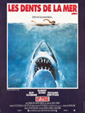 "Movie Posters:Horror, Jaws (Universal, 1976). French Grande (46"" X 61""). Horror.. ..."