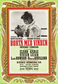 "Movie Posters:Academy Award Winners, Gone with the Wind (MGM, 1941). Swedish One Sheets (2) (27.5"" X39.5"").. ... (Total: 2 Items)"