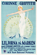 "Movie Posters:Drama, Lilies of the Field (First National, 1925). Swedish One Sheet(23.5"" X 35"").. ..."