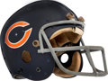 Football Collectibles:Helmets, 1975-77 Walter Payton Game Worn Chicago Bears Rookie Era Helmet - Kindler Collection....