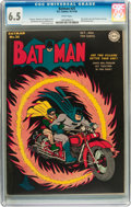 Golden Age (1938-1955):Superhero, Batman #25 (DC, 1944) CGC FN+ 6.5 White pages....