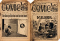 Books:Periodicals, [Periodicals, Humor]. Two Issues of The Five Cent ComicLibrary, Vol. III/No. 70 and Vol. VII/No. 176. New York:...