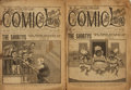 Books:Periodicals, [Periodicals, Humor]. Two Consecutive Issues of The Five CentComic Library, Vol. VI, Nos 149 and 150. New York:...