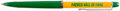 Football Collectibles:Others, Circa 1980s Green Bay Packers Hall of Fame Pen - With Floating Football Player....