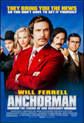 "Anchorman: The Legend of Ron Burgundy & Other Lot (DreamWorks, 2004). One Sheets (2) (26.25"" X 40"", 27..."