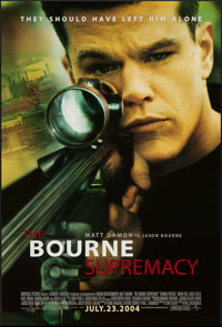 """The Bourne Supremacy & Others Lot (Universal, 2004). One Sheets (3) (27"""" X 40"""") DS Regular & A..."""