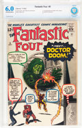 Silver Age (1956-1969):Superhero, Fantastic Four #5 (Marvel, 1962) CBCS FN 6.0 Off-white to whitepages....