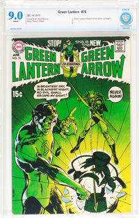 Green Lantern #76 (DC, 1970) CBCS VF/NM 9.0 White pages