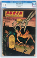 Golden Age (1938-1955):Crime, Punch Comics #13 (Chesler, 1945) CGC GD- 1.8 Cream to off-white pages....