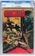Golden Age (1938-1955):Miscellaneous, Red Seal Comics #17 (Chesler, 1946) CGC VG 4.0 Off-white to white pages....