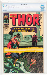 Thor #130 (Marvel, 1966) CBCS NM+ 9.6 White pages