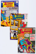 Silver Age (1956-1969):Superhero, Action Comics Group of 90 (DC, 1965-73) Condition: AverageVG/FN.... (Total: 90 Comic Books)