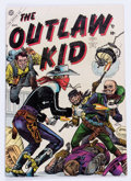 Golden Age (1938-1955):Western, Outlaw Kid #1 (Atlas, 1954) Condition: VG....