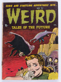 Golden Age (1938-1955):Horror, Weird Tales of the Future #4 (Aragon, 1952) Condition: GD-....