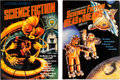 Memorabilia:Science Fiction, Science Fiction Book Group of 6 (various publishers, 1975-2000).... (Total: 6 Items)