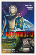 """Movie Posters:Science Fiction, The Day the Earth Stood Still (20th Century Fox, R-1994). One Sheet(27"""" X 41""""). Science Fiction.. ..."""