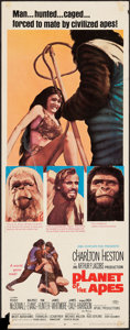 "Movie Posters:Science Fiction, Planet of the Apes (20th Century Fox, 1968). Insert (14"" X 36"").Science Fiction.. ..."