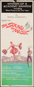 "Movie Posters:Academy Award Winners, The Sound of Music & Other Lot (20th Century Fox, 1966).Academy Awards Insert (14"" X 36"") and Half Sheet (22"" X 28"").Acade... (Total: 2 Items)"