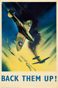 "Movie Posters:War, World War II British Propaganda (Central Office of Information,1942). British Double Crown No. 51 of 500 (19.25"" X 29.5"""") ..."