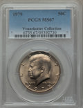 Kennedy Half Dollars, 1979 50C MS67 PCGS. Ex: Vennekotter Collection. PCGS Population(47/1). NGC Census: (19/1). Mintage: 68,312,000. Numismedia...