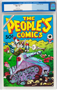 The People's Comics #nn (Golden Gate, 1972) CGC NM+ 9.6 Off-white pages