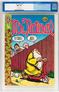 Mr. Natural #2 First Printing (jSan Francisco Comic Book Company, 1971) CGC NM+ 9.6 Off-white pages