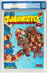 Junkwaffel #3 (Print Mint, 1972) CGC NM+ 9.6 White pages