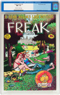 Bronze Age (1970-1979):Alternative/Underground, The Fabulous Furry Freak Brothers #3 (Rip Off Press, 1973) CGC NM+ 9.6 Off-white to white pages....