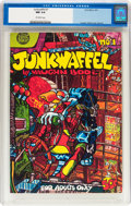 Bronze Age (1970-1979):Alternative/Underground, Junkwaffel #1 (Print Mint, 1971) CGC NM 9.4 Off-white pages....
