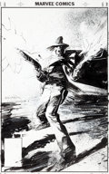 Original Comic Art:Covers, Bill Sienkiewicz Just a Pilgrim #4 Cover Original Art (BlackBull, 2001)....