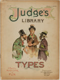 Books:Periodicals, [Cartoons, Illustrated Periodicals]. Judge's Library; A Monthly Magazine of Fun, No. 56. November, 1893. New Yor...