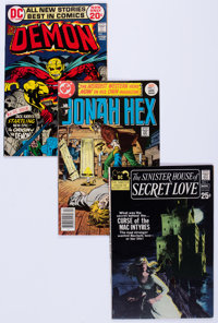 DC Bronze and Modern Age Comics Group of 39 (DC, 1971-91) Condition: Average VF.... (Total: 39 Comic Books)