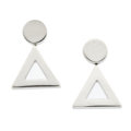 Estate Jewelry:Earrings, White Gold Earrings. ...