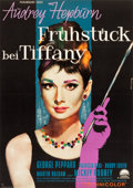 "Movie Posters:Romance, Breakfast at Tiffany's (Paramount, 1961). German A1 (23.5"" X 33"")....."