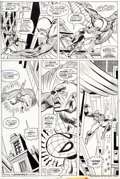 Original Comic Art:Panel Pages, Gil Kane and Mike Esposito Amazing Spider-Man #150 Page 7The Vulture Original Art (Marvel, 1975)....