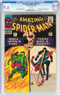 Silver Age (1956-1969):Superhero, The Amazing Spider-Man #37 (Marvel, 1966) CGC NM+ 9.6 Whitepages....