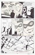 Original Comic Art:Panel Pages, Bruce Timm Batman Adventures: Mad Love #1 Page 10 HarleyQuinn Original Art (DC, 1994).... (Total: 2 Items)