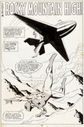 Original Comic Art:Splash Pages, Alan Kupperberg and Jack Abel Marvel Team-Up Annual #2Splash Page 13 Original Art (Marvel, 1979)....