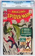 Silver Age (1956-1969):Superhero, The Amazing Spider-Man #2 (Marvel, 1963) CGC VF/NM 9.0 Off-white towhite pages....