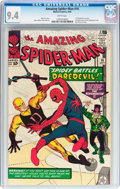 Silver Age (1956-1969):Superhero, The Amazing Spider-Man #16 (Marvel, 1964) CGC NM 9.4 Whitepages....